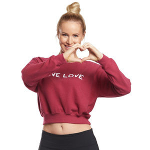 NWMD SG Give Love Cozy Crew Neck Pullover LRG